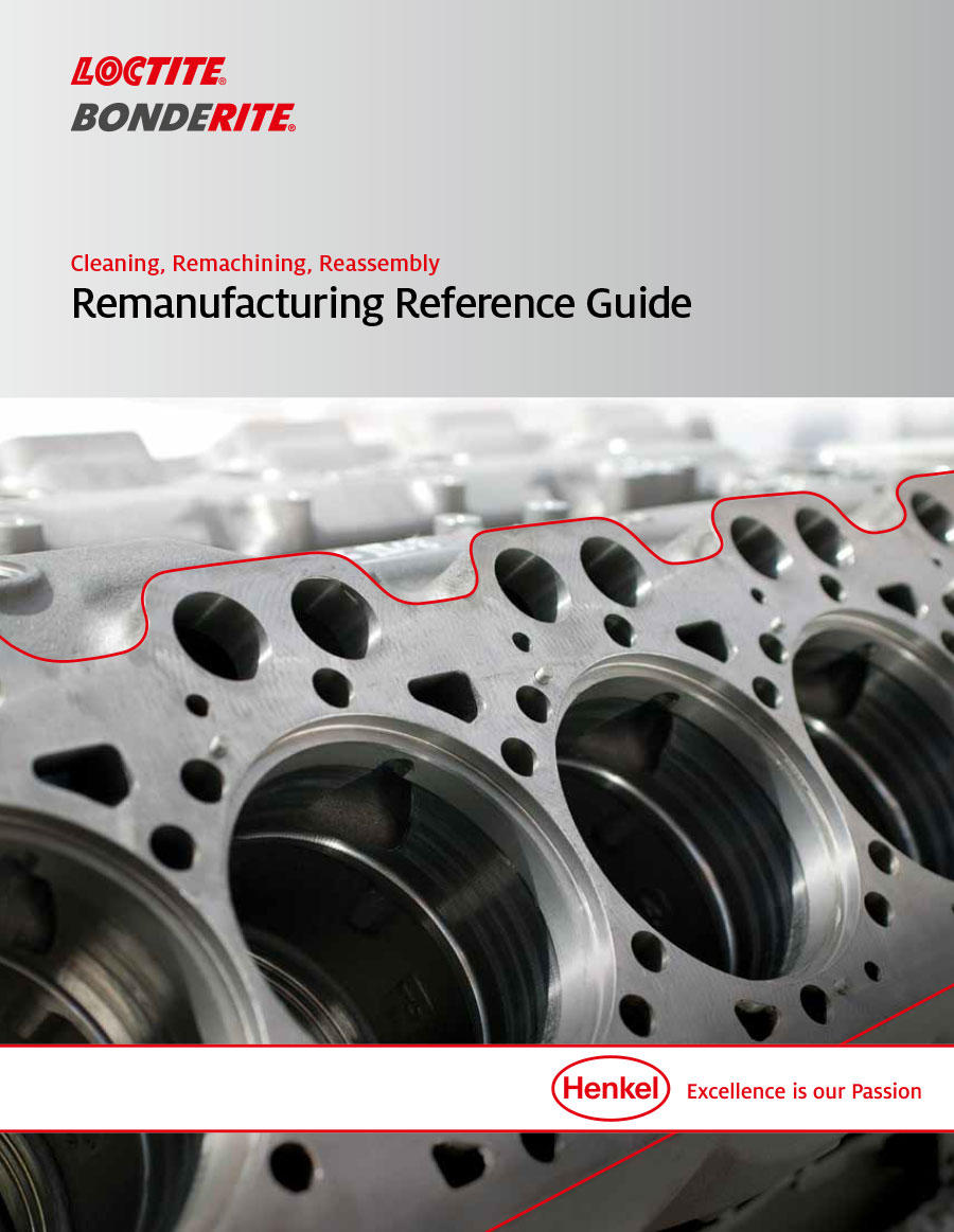 Cover of remanufacturing brochure