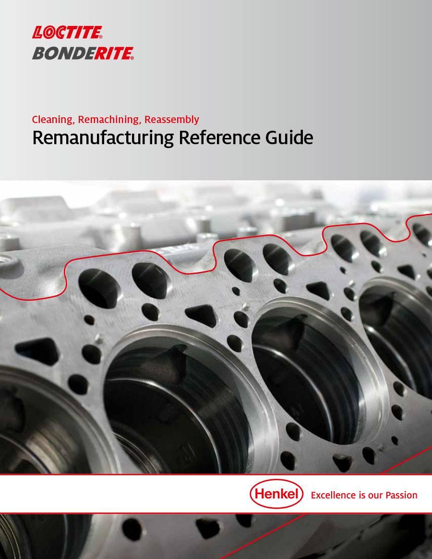 Remanufacturing brochure