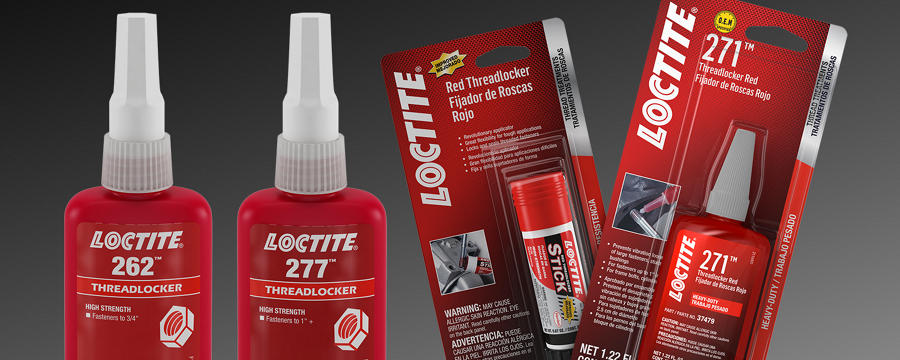 Loctite Red Threadlockers