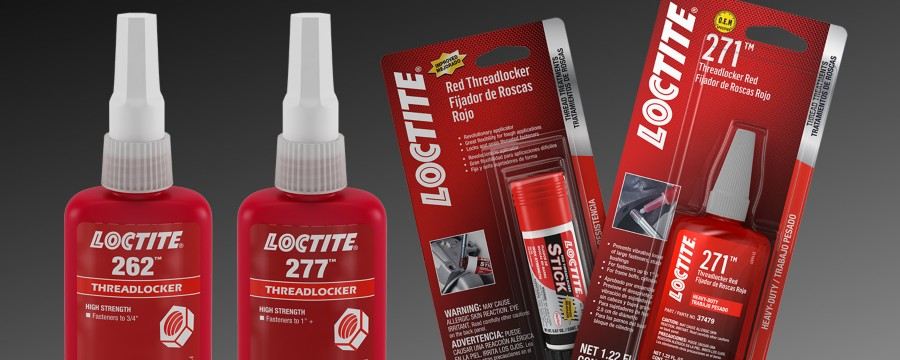 Freinfilet rouge LOCTITE