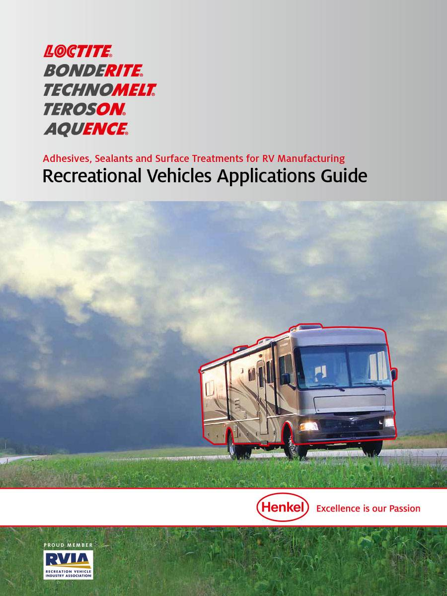 Cover of the recreational vehicle applications guide