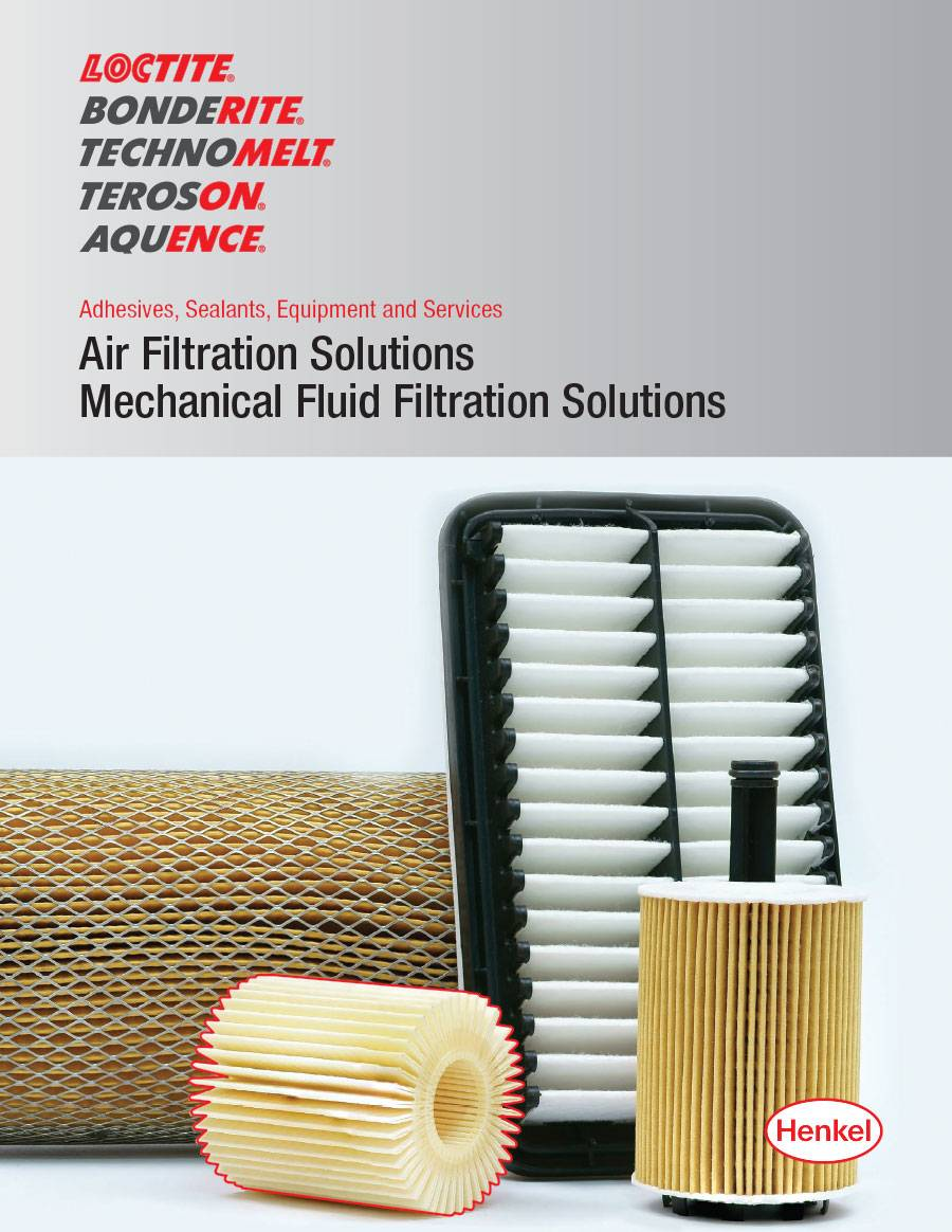 cover of air and mechanical fluid filtration solutions brochure