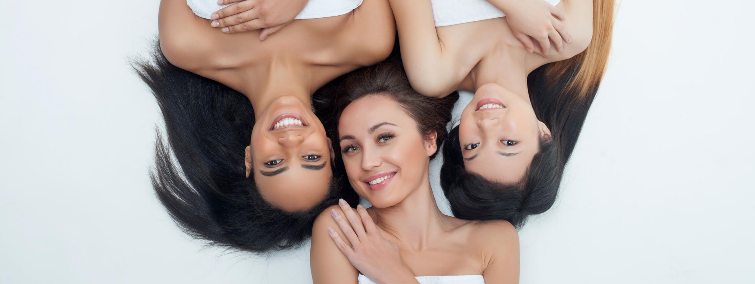Разные типы волос у женщин