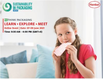 Henkel partners with Sustainability in Packaging Asia 2021