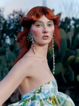 Essential Looks Fawcett Flip Model With Red Hair