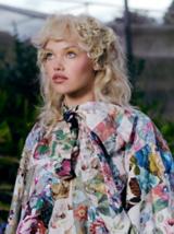 Essential Looks Let It Bloom Model With Blonde Hair