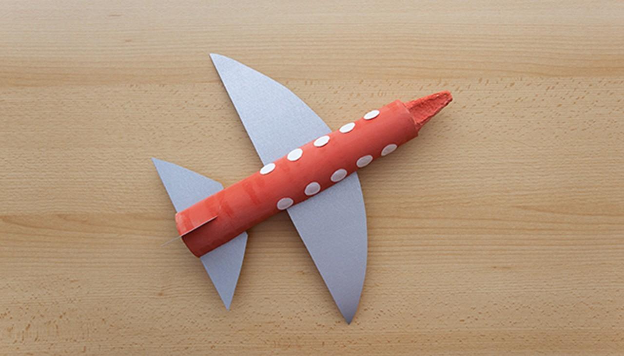 Flugzeug Basteln