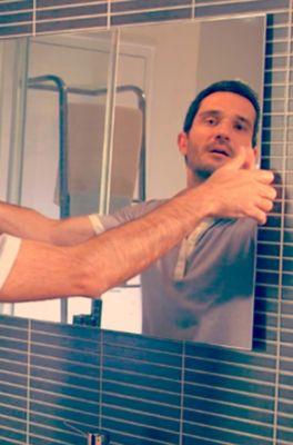 วิธีติดกระจกเงา ด้วย แพทเท็คส์ ฟิคซ์ กาวพลังตะปู