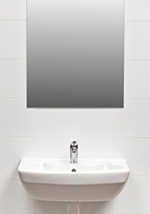 Comment décoller un miroir du mur ?