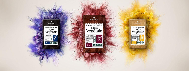 Poudre colorante 100% Végétale de Schwarzkopf