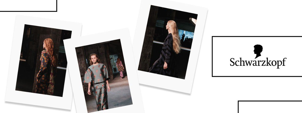Three different looks at the Mercedes-Benz Fashion Week