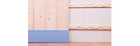 Monta il battiscopa e rivestimenti in legno facilmente con MilleChiodi Original
