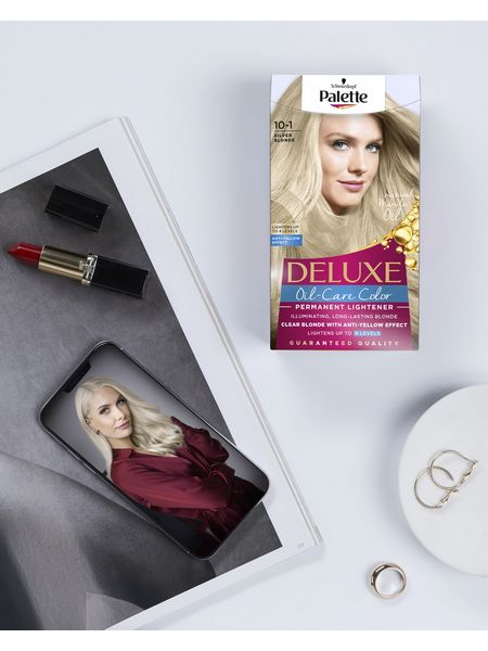Box of Palette Deluxe blonde