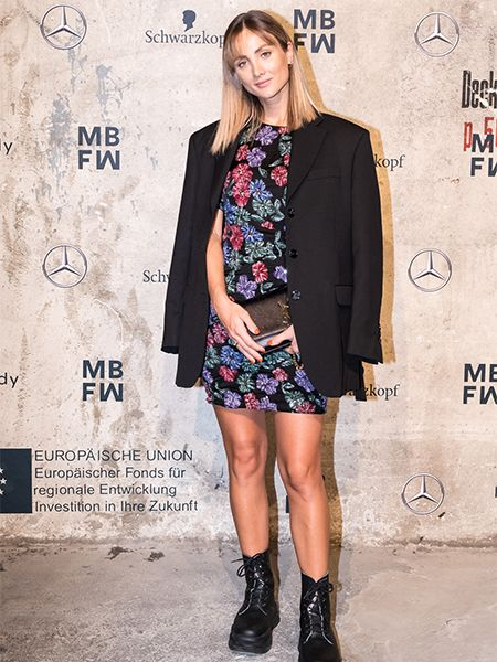 Carmushka bei der Mercedes-Benz Fashion Week 2020