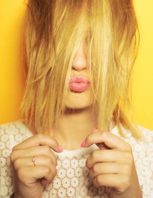 Ginger haircut Polina Bublik