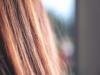 Nahaufnahme von roten Haaren