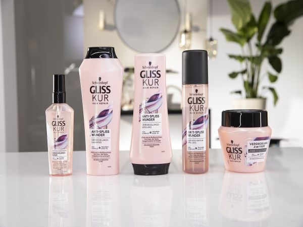 The Gliss Split Hair Miracle range