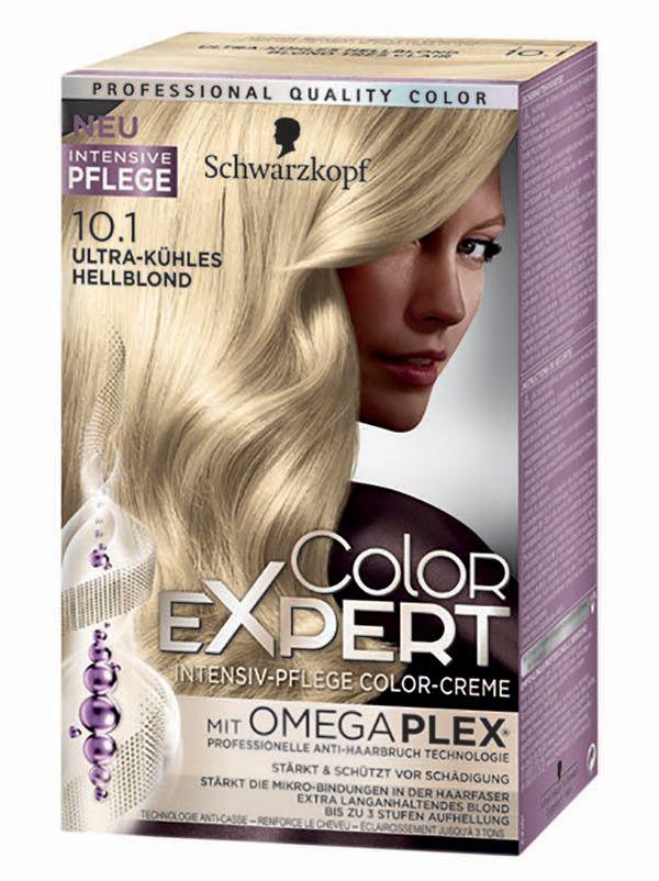Barva na vlasy ColorExpert s péčí o vlasy od Schwarzkopf.