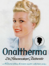 """Schwarzkopf introduces the first cold perm, """"Onaltherma"""""""