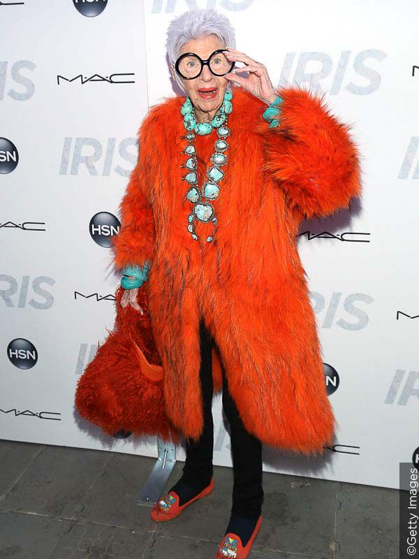 Iris Apfel is a true style icon.