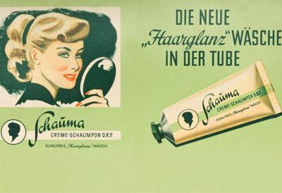 First Schauma Creme-Schaumpon from Schwarzkopf.