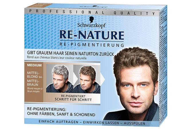 První samo pigmentovací barva pro šedé vlasy.