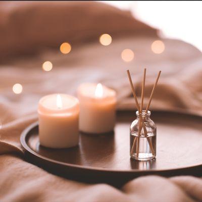 Kerzenwachsreste wiederverwenden