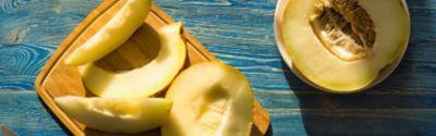Honigmelone: so schneidest du diese vielseitige Frucht am besten