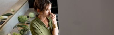 How to eliminate kitchen odours