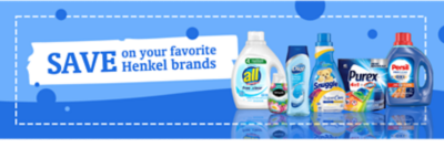 Save on your favorite household brands