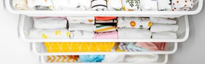 drawers-with-baby-clothes