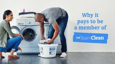 Why it pays to be a member of Ask Team Clean
