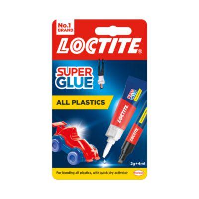 LOCTITE SUPERGLUE ALL PLASTICS