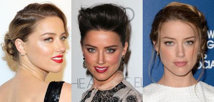 Skap Amber Heards hårfrisyre