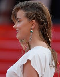 Creating Amber Heard's Hairstyle