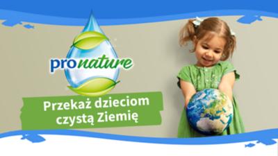 Przekaż dzieciom czystą Ziemię
