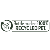 100% recycled pet