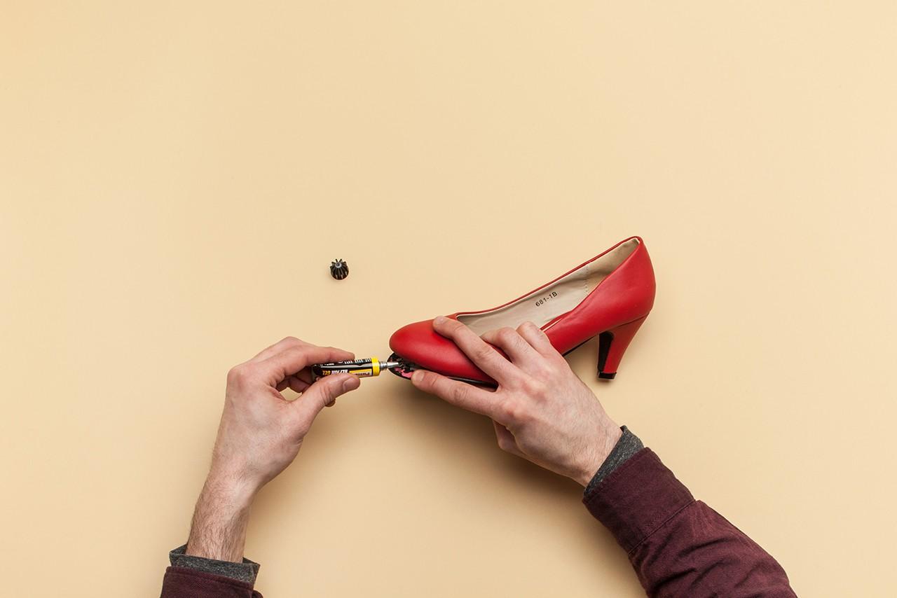 un semelle Réparer talon de coller une chaussure ou xBeCoWrd