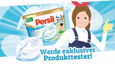 Persil sucht 500 Produkttester!