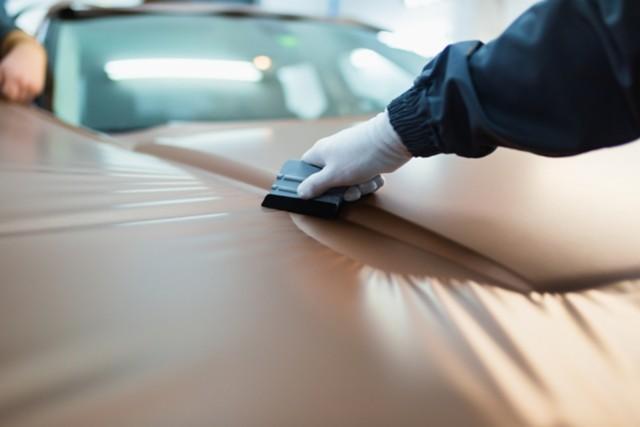 用于汽车贴膜的PSA乙烯基广告贴膜