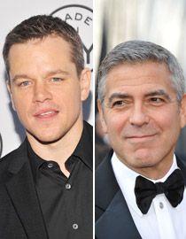 Matt Damon i George Clooney