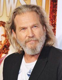 Jeff Bridges grisonnant