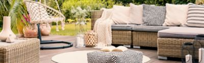 Outdoor fabrics: Which ones are best for your balcony and patio and how do you clean them?