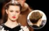 Designerin Carolina Herrera mag den Retro-Look und liegt mit der Haarrolle voll im Trend