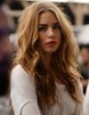 Young woman long hair