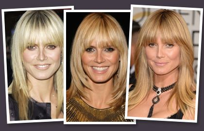Heidi Klum Wearing Fringes