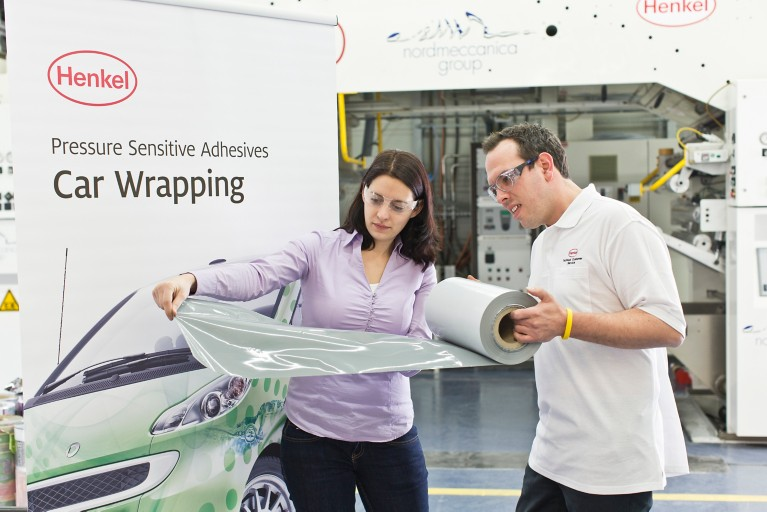 adhesivos sensibles a la presión para car wrapping