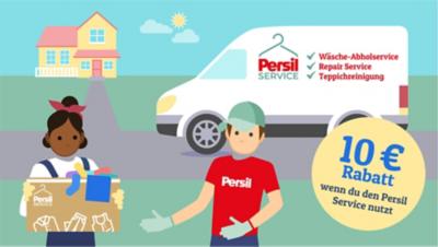 Teste den Wäscheservice von Persil und erhalte 10€ Rabatt!