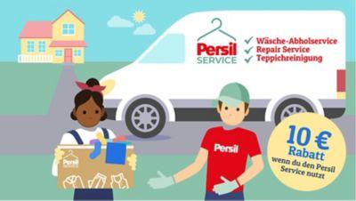 Teste den professionellen Wäscheservice von Persil und erhalte 10€ Rabatt!