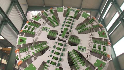 Массивный диск производства Herrenknecht